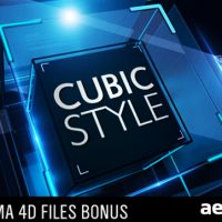 CUBIC STYLE – PROJECT FOR AFTER EFFECTS (VIDEOHIVE)