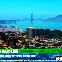 CUSTOMIZABLE LOWER THIRD – AFTER EFFECTS PROJECT (VIDEOHIVE)