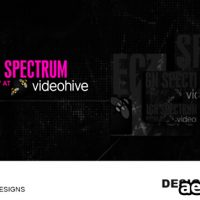 DESIGN SPECTRUM – PROJECT FOR AFTER EFFECTS (VIDEOHIVE)