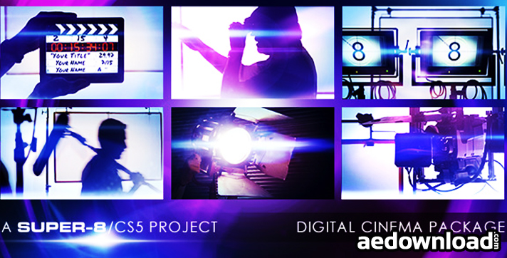 DIGITAL CINEMA PACKAGE - FREE DOWNLOAD - VIDEOHIVE - Free After
