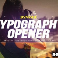 DYNAMIC TYPOGRAPHY OPENER – FREE DOWNLOAD VIDEOHIVE