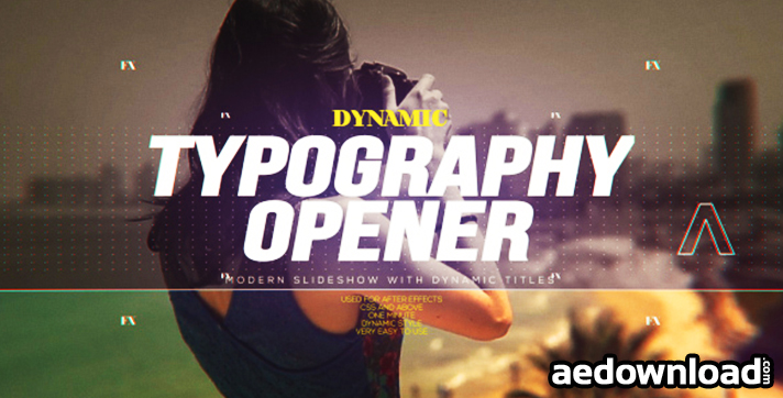 Dynamic Typography Opener