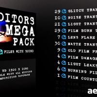 MOTION GRAPHIC – EDITORS MEGA PACK (VIDEOHIVE)