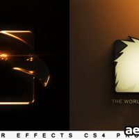 ELEGANT GLOSSY EDGE REVEAL – PROJECT FOR AFTER EFFECTS (VIDEOHIVE)