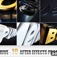 ELEGANT AND MODERN LOGO OR TEXT OPENER (VIDEOHIVE)