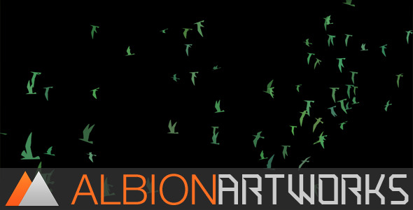 FLOCKING BIRD GENERATOR - AFTER EFFECTS PROJECT (VIDEOHIVE) - Free