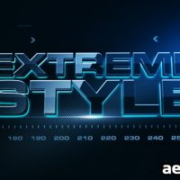 EXTREME STYLE – PROJECT FOR AFTER EFFECTS (VIDEOHIVE)