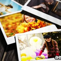 FALLING PHOTOS 2- AFTER EFFECTS PROJECT (VIDEOHIVE)