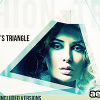 FASHION'S TRIANGLE – AFTER EFFECTS PROJECT (VIDEOHIVE)