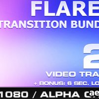 FLARES TRANSITION BUNDLE – 4 – MOTION GRAPHIC (VIDEOHIVE)