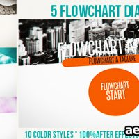FLOWCHART DIAGRAMS PACK – AFTER EFFECTS PROJECT (VIDEOHIVE)