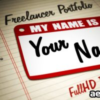 FREELANCER PORTFOLIO 1054574 – FREE DOWNLOAD VIDEOHIVE