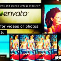 FUNKY AND GRUNGE VINTAGE SLIDESHOW (VIDEOHIVE)
