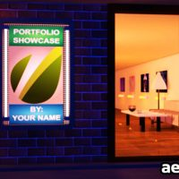 GALLERY PORTFOLIO – PROJECTS FOR AFTER EFFECTS (VIDEOHIVE)
