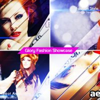 GLORY FASHION SHOWCASE – AFTER EFFECTS PROJECT (VIDEOHIVE)