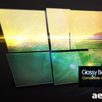 GLOSSY BOX VIDEO DISPLAY – AFTER EFFECTS PROJECT (VIDEOHIVE)