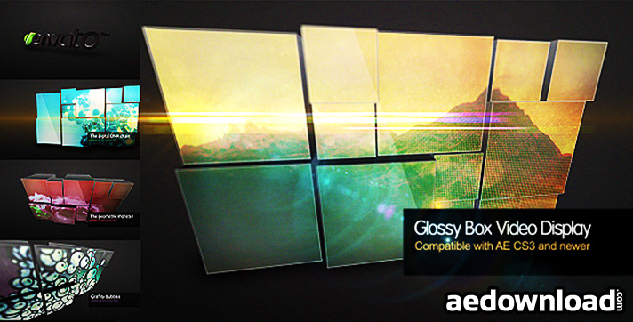 Glossy Box Video Display