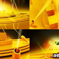 GOLD STAGE – PROJECT FOR AFTER EFFECTS (VIDEOHIVE)