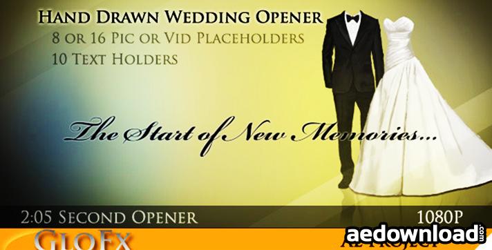 Hand Drawn Wedding Opener