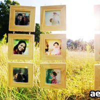 HANGING WOOD FRAMES GALLERY (VIDEOHIVE)