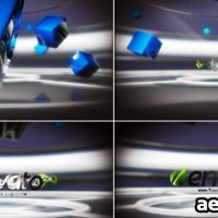 HI-TECH LOGO TELEPORTER – AFTER EFFECTS PROJECT (VIDEOHIVE)