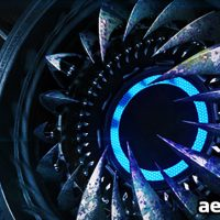 HI-TECH MONSTER – LOGO STING – AFTER EFFECTS PROJECT (VIDEOHIVE)