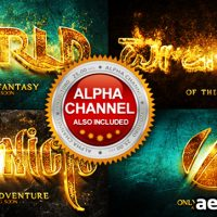 HOT AND GOLD REVEAL – PROJECT FOR AFTER EFFECTS (VIDEOHIVE)