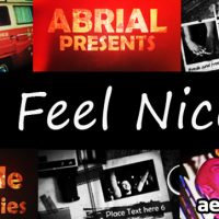 I FEEL NICE – AFTER EFFECTS PROJECT (VIDEOHIVE)