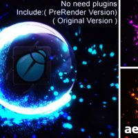 IMPACT PARTICLES REVEAL – AFTER EFFECTS PROJECT (VIDEOHIVE)