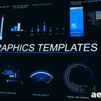 INFOGRAPHICS TEMPLATE 2 – AFTER EFFECTS PROJECT (VIDEOHIVE)