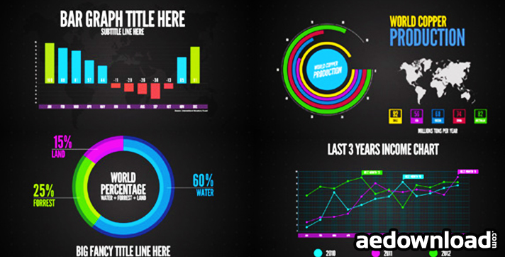 Infographics After Effects Project Videohive Free