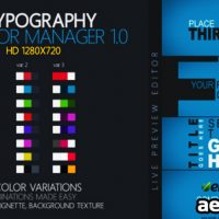 KINETIC TYPOGRAPHY – PROJECT FOR AFTER EFFECTS (VIDEOHIVE)