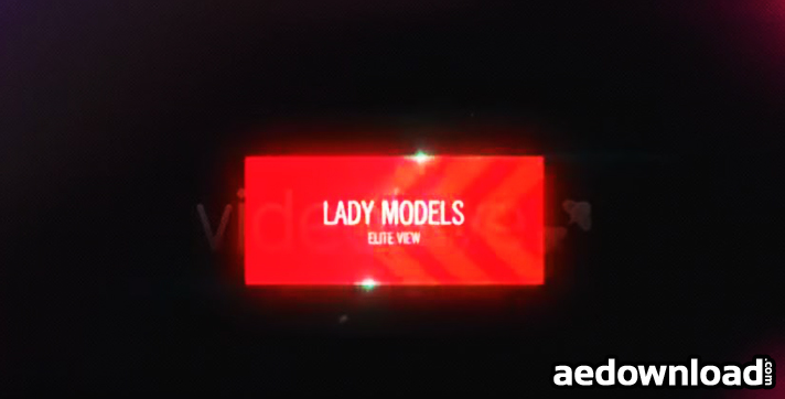 Lady Models After Effects Template