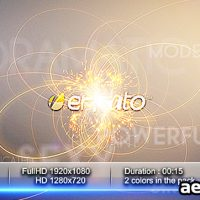 LIGHT FLOWER INTRO – AFTER EFFECTS PROJECT (VIDEOHIVE)