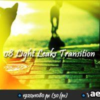 MOTION GRAFICS – LIGHT LEAKS TRANSITION (VIDEOHIVE)