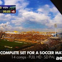LIVE SOCCER BROADCAST – PROJECT FOR AFTER EFFECTS (VIDEOHIVE)