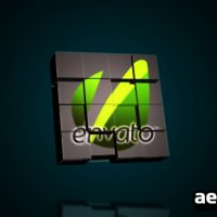 LOGO CUBES TRANSFORMATION – AFTER EFFECTS PROJECT (VIDEOHIVE)