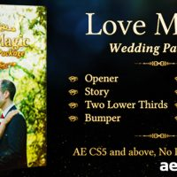 LOVE MAGIC WEDDING PACKAGE – AFTER EFFECTS PROJECT (VIDEOHIVE)