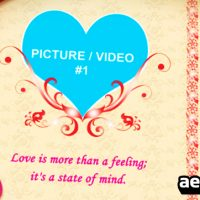 LOVE PHOTO ALBUM – AFTER EFFECTS PROJECT (VIDEOHIVE)