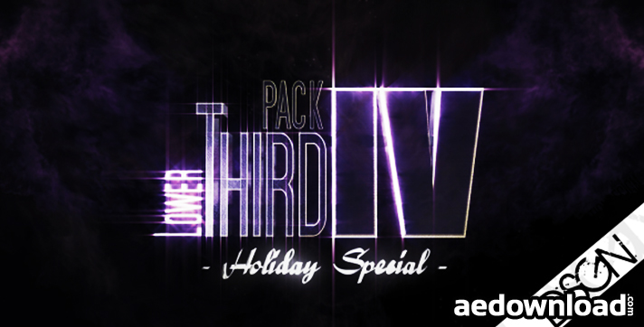 Lower Third Pack Vol.4 HOLIDAY SPECIAL FullHD