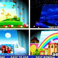 MAGIC POPUP BOOK – AFTER EFFECTS PROJECT (VIDEOHIVE)