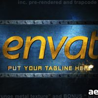 METAL LOGO INTRO – PROJECT FOR AFTER EFFECTS (VIDEOHIVE)