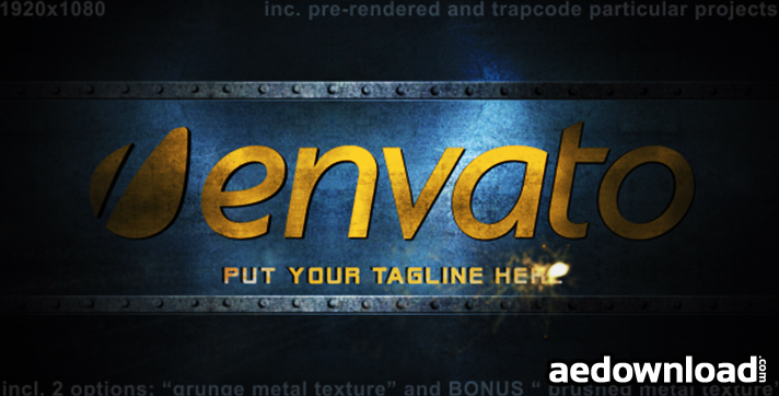 Metal Logo Intro