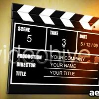MOVIE SLATE V1 – AFTER EFFECTS PROJECT (VIDEOHIVE)