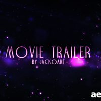 MOVIE TRAILER 04 – AFTER EFFECTS PROJECT (VIDEOHIVE)