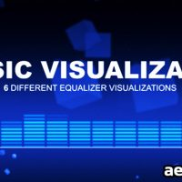 MUSIC VISUALIZATOR – AFTER EFFECTS PROJECT (VIDEOHIVE)