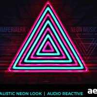 NEON MUSIC VISUALIZER AUDIO REACT FREE DOWNLOAD – VIDEOHIVE