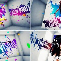 VIDEOHIVE ON THE WALL –  AFTER EFFECTS PROJECT