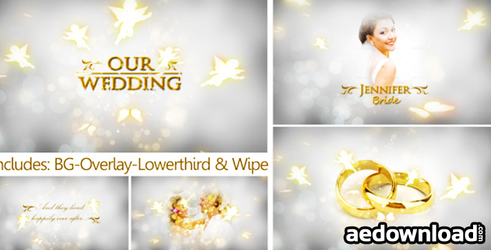 Our Wedding The Complete Pack After Effects Project