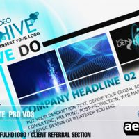 AE CS3 – PROFESSIONAL DESIGN TEMPLATE V03 (VIDEOHIVE)
